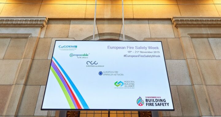 Fire Safety conference Brussels 2019 Residence Palace