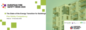 The stake of the Energy Transition for Buildings - Fire Safety Competency